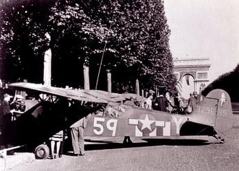 Piper L - 4 August 1944 Paris on the Champ de Mars