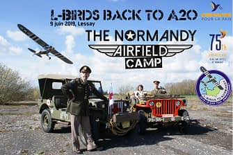Normandy Airfield Camp