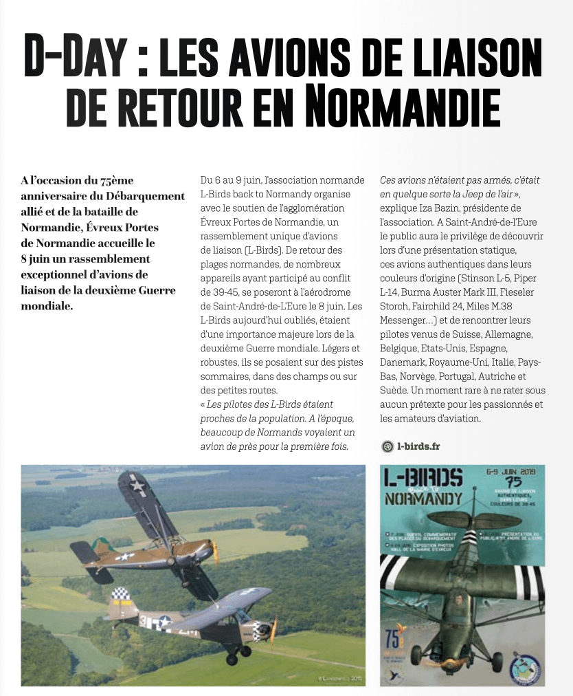 Magazine Evreux gates of Normandy