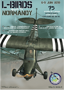 The poster of L-Birds back to Normandy