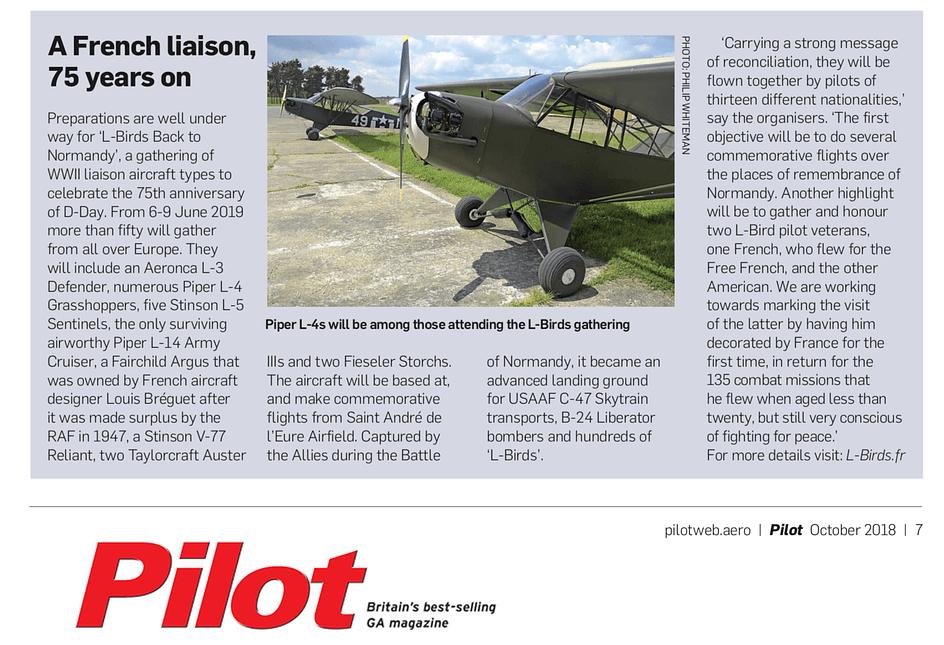 Pilot magazine - L-Birds